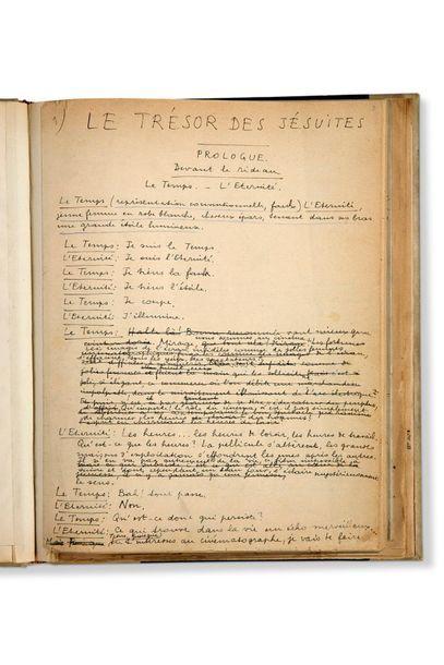 ARAGON LOUIS (1897-1982) - BRETON ANDRÉ (1896-1966) Le Trésor des Jésuites. Pièce...