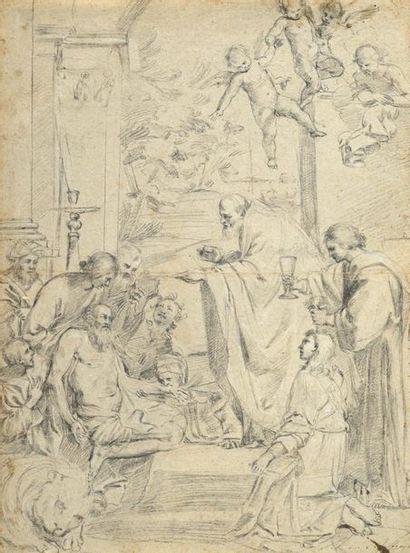 ECOLE ITALIENNE DU XVIIIe SIÈCLE, D'APRÈS DOMENICO ZAMPIERI, DIT LE DOMINIQUIN (BOLOGNE, 1581 - NAPLES, 1641)