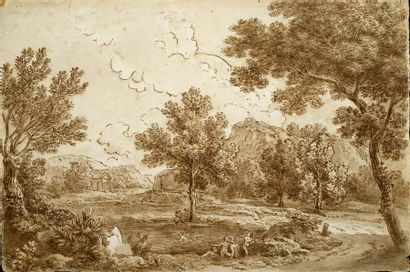ENTOURAGE DE FRANCESCO ZUCCARELLI (PITIGLIANO, 1702 - FLORENCE, 1788)
