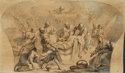 ATTRIBUÉ À FRANCESCO FONTEBASSO (VENISE, 1707 - 1769)