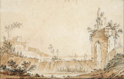 ENTOURAGE DE FRANCESCO GUARDI (VENISE, 1712 - 1793)