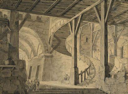 ATTRIBUÉ À ERCOLE MONTAVOCI (1779 - 1858)