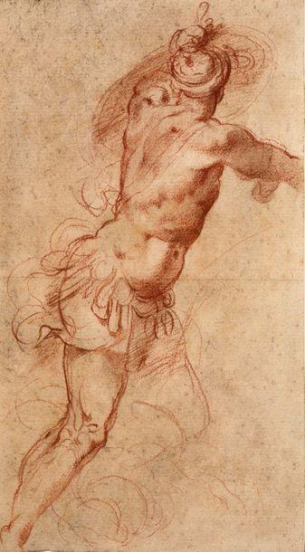 ECOLE ITALIENNE DE LA FIN DU XVIe SIÈCLE, ATTRIBUÉ À GIUSEPPE CESARI DIT CAVALIER D'ARPIN (ROME, 1568 - ROME, 1640)