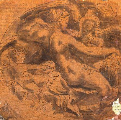 ECOLE DE FONTAINEBLEAU, ENTOURAGE DE GIOVANNI BATTISTA DI IACOPO, DIT ROSSO FIORENTINO (FLORENCE, 1495 - PARIS, 1540)
