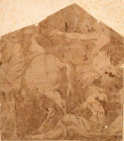 ECOLE ITALIENNE DU XVIe SIÈCLE, ENTOURAGE DE LUCA CAMBIASO (MONEGLIA, 1527 - SAN LORENZO DE EL ESCORIAL, 1585)