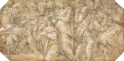 ECOLE ITALIENNE DE LA FIN DU XVIe SIÈCLE, D'APRÈS POLIDORO DA CARAVAGGIO (BERGAME, 1492 - MESSINE, 1543)