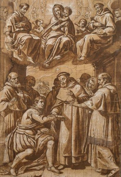 ECOLE BOLOGNAISE VERS 1620