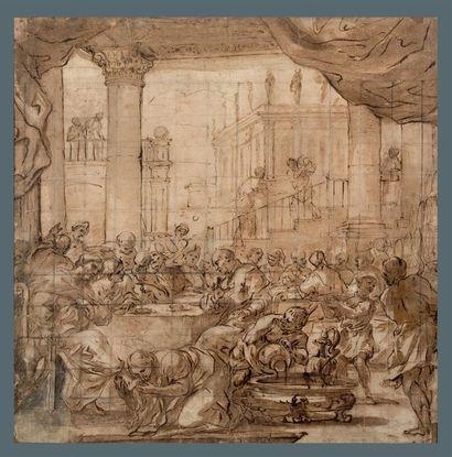 ATTRIBUÉ À FRANCESCO SOLIMENA (SERINO, 1657 - NAPLES, 1747)