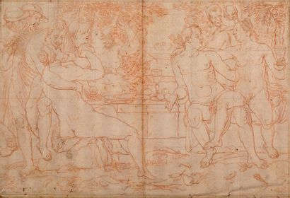 ECOLE HOLLANDAISE DU XVIIe SIÈCLE, D'APRÈS CORNELIS VAN HAARLEM (HAARLEM, 1562 - 1638)