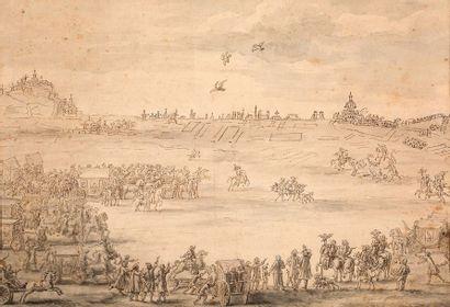 ENTOURAGE D'ADAM FRANS VAN DER MEULEN (BRUXELLES, 1632 - PARIS, 1690)