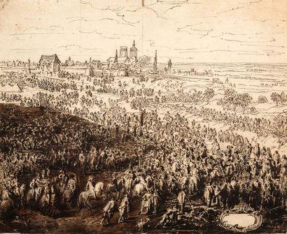 ATTRIBUÉ À ADAM FRANS VAN DER MEULEN (BRUXELLES, 1632 - PARIS, 1690)