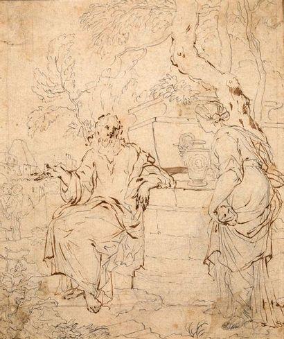 ATTRIBUÉ À JEAN-BAPTISTE CORNEILLE (PARIS, 1649 - 1695)