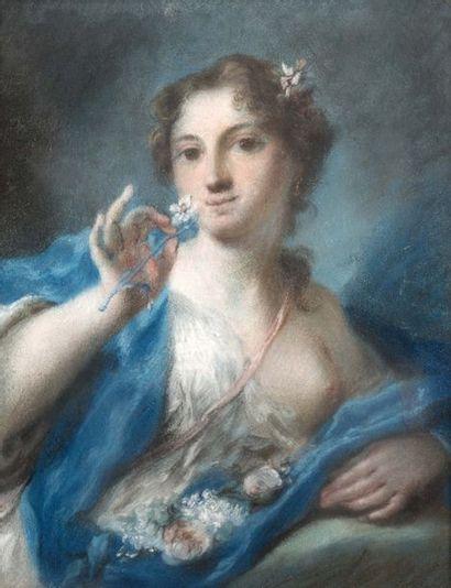 ENTOURAGE DE ROSALBA CARRIERA (VENISE, 1673 - 1757)