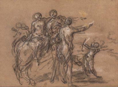 JOSEPH FRANÇOIS PARROCEL (AVIGNON, 1704 - PARIS, 1781)