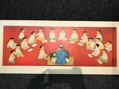 D'après MAI TRUNG THU (1906-1980)  La classe,...
