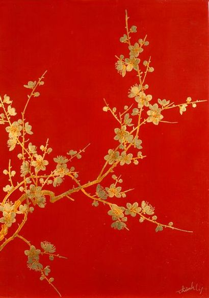 NGUYEN Thanh Lê (1919-2003)  Les quatre saisons...