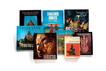 Lot de 8 livres comprenant Thaïlande par...