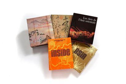 Lot de 2 livres comprenant Inside Asia aux...