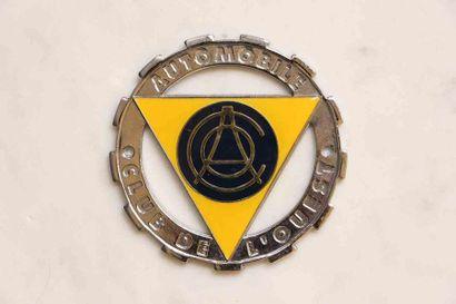 Automobile Club de l'Ouest  Badge de calandre...