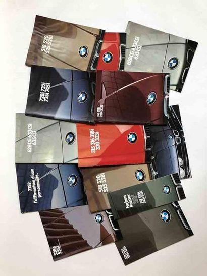 Lot catalogues BMW  Modèles :  Série 3 :...