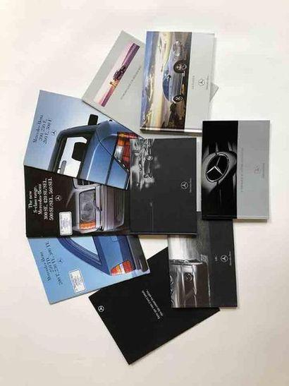 Lot catalogues Mercedes  Modèles : W124 (EN)...