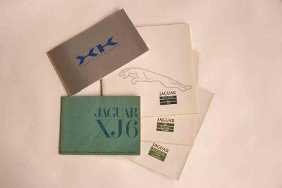 Lot catalogues Jaguar  Modèles : XJ-S, XJ-SC...
