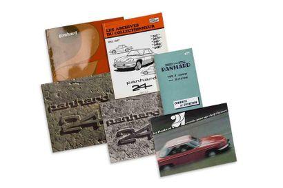 Lot catalogues Panhard  Lot de 6 catalogues...