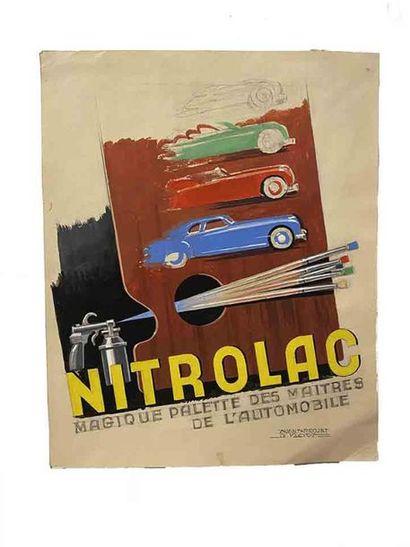 ALEXIS KOW (1901 - 1978)  Nitrolac : Magique...