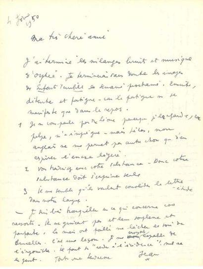 COCTEAU Jean (1889-1963)