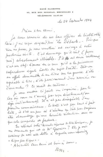 MAGRITTE René (1898-1967)