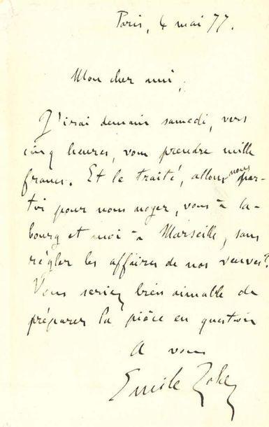 ZOLA emile (1840-1902)