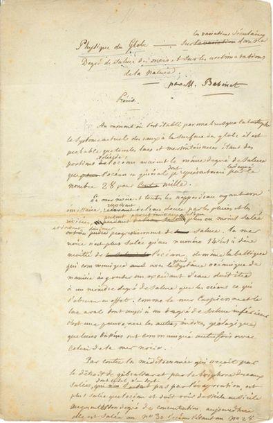 BABINET Jacques (1794-1872)<br/>Physicien et astronome