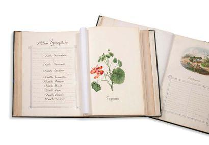 DU DEMAINE, marquise d'ESPAGNET Valentine Girard (1833-1911)
