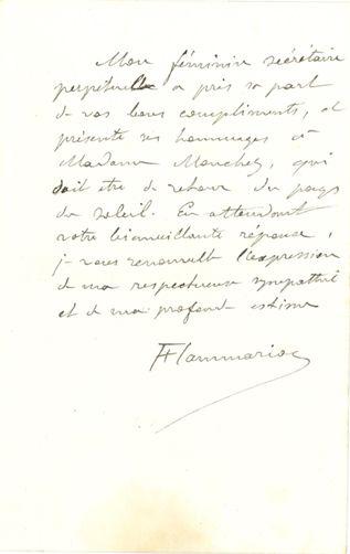 FLAMMARION Camille (1842-1925)