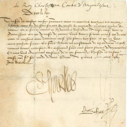 CHARLES VIII (1470-1498) Roi de France