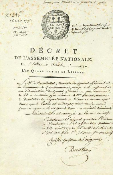 DANTON Georges Jacques (1759-1794)