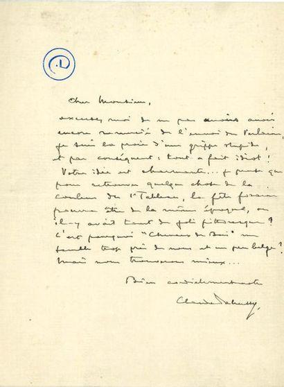 DEBUSSY Claude (1862-1918)