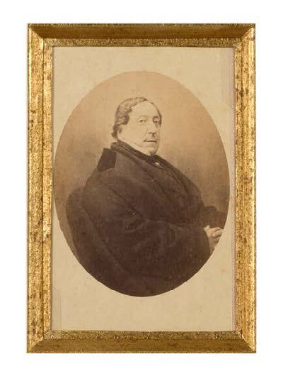 ROSSINI Gioacchino (1792-1868) L.A.S. «Rossini» et P.A., Maison dorée («Casa orara»),...