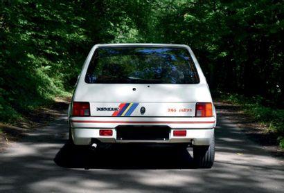 1988 - Peugeot 205 Rallye 1.3 Véhicule vendu sans contrôle technique. Nous vous invitons...