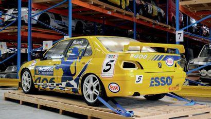 1998 - Peugeot 406 supertourisme Argentine Véhicule de compétition vendu sans carte...