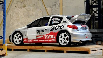 1999 - Peugeot 206 WRC Show car Show car sold without registration title. We would...