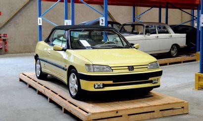 1993 - Peugeot 306 cabriolet 1.8 Couleur et Matière Vehicle sold without registration...