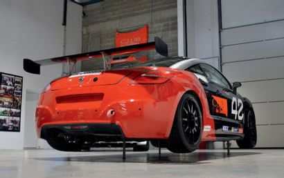 2013 - Peugeot RCZ Cup Competition car sold without registration title. We invite...