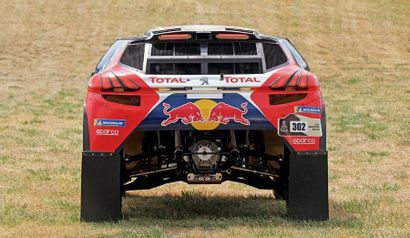 2016 - Peugeot 2008 DKR16 Competition car sold without registration title. We invite...