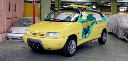 1998 - Citroën Berlingo Calao par Sbarro Vehicle sold without registration title....