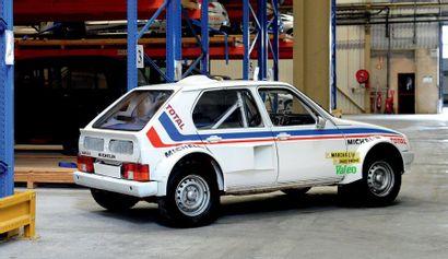 1984 - Citroën Visa Proto Dangel Véhicule de compétition vendu sans carte grise....