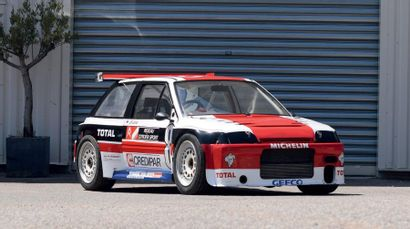 1988 - Citroën AX Turbo 1.6 Superproduction Competition car sold without registration...