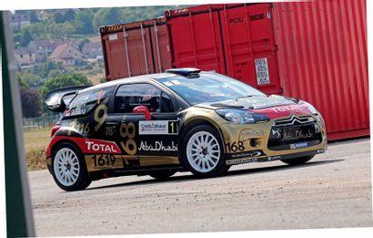 2011 - Citroën DS 3 WRC ex Sébastien Loeb