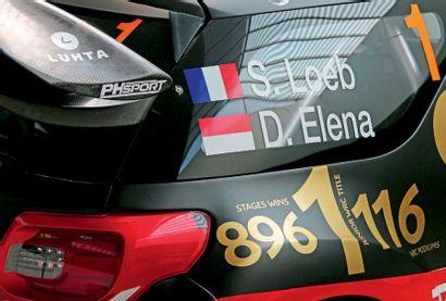 2011 - Citroën DS 3 WRC ex Sébastien Loeb Competition car sold with a title registration...