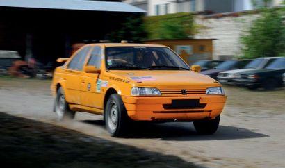 1989 - Peugeot 405 MI 16 4x4 Proto « Grand Raid » Vehicle sold with its vehicle registration...